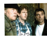 Dudley Sutton & Chris Jury  LOVEJOY  Genuine Autograph 11102